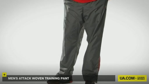 Men's Attack Woven Training Pant - image 3 from the video
