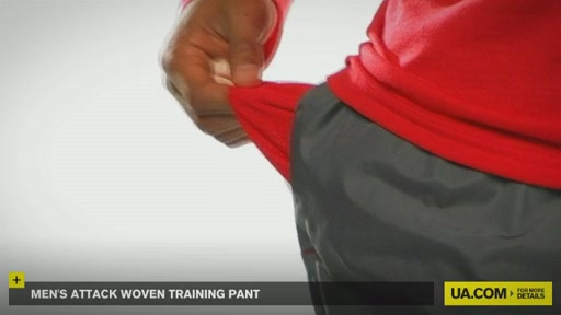 Men's Attack Woven Training Pant - image 4 from the video