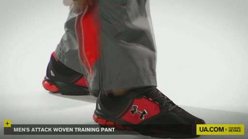 Men's Attack Woven Training Pant - image 5 from the video