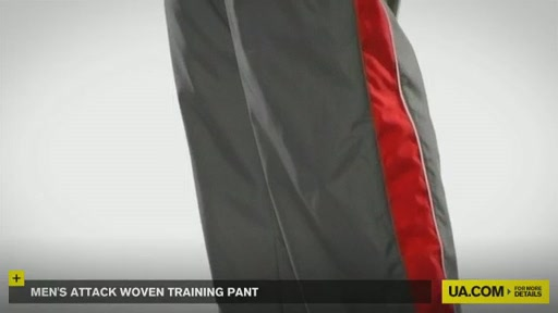 Men's Attack Woven Training Pant - image 8 from the video