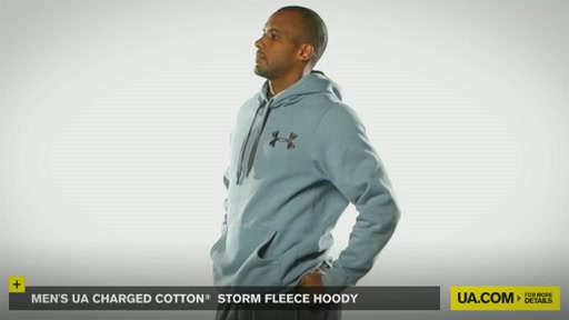 Men's UA Charged Cotton® Storm Fleece Hoody - image 3 from the video