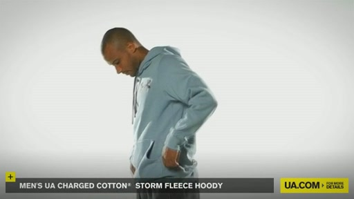 Men's UA Charged Cotton® Storm Fleece Hoody - image 4 from the video