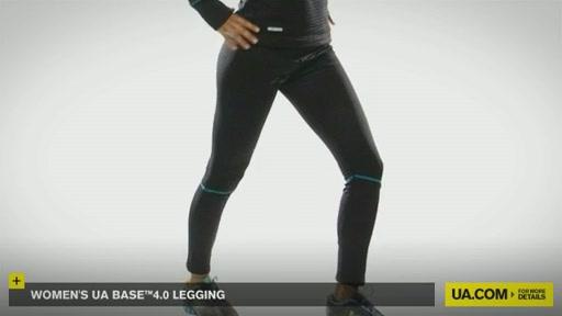 Women's UA Base™ 4.0 Leggings - image 6 from the video