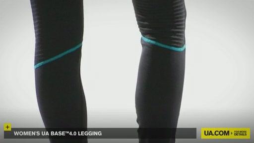 Women's UA Base™ 4.0 Leggings - image 9 from the video