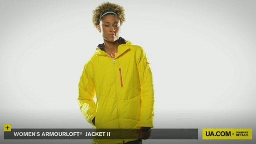 Women's ArmourLoft® Jacket II - image 2 from the video