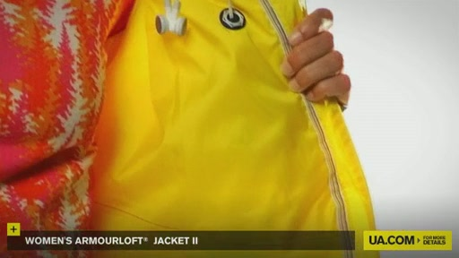 Women's ArmourLoft® Jacket II - image 3 from the video