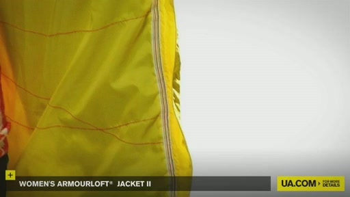 Women's ArmourLoft® Jacket II - image 4 from the video