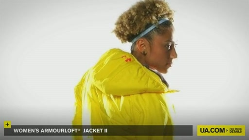 Women's ArmourLoft® Jacket II - image 5 from the video