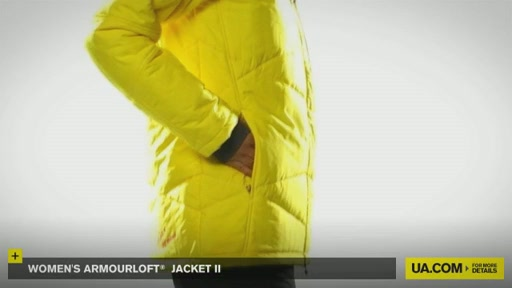 Women's ArmourLoft® Jacket II - image 6 from the video