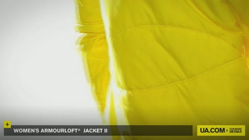 Women's ArmourLoft® Jacket II - image 7 from the video