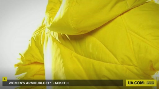 Women's ArmourLoft® Jacket II - image 8 from the video