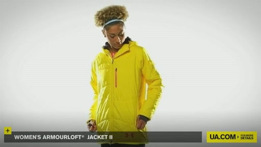 Women's ArmourLoft® Jacket II - image 9 from the video
