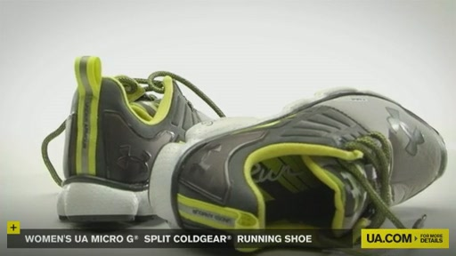 Women's UA Micro G® Split CG Running Shoe - image 2 from the video