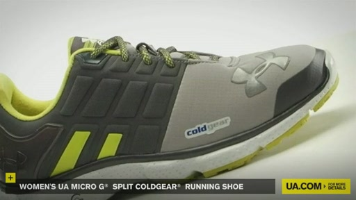 Women's UA Micro G® Split CG Running Shoe - image 4 from the video