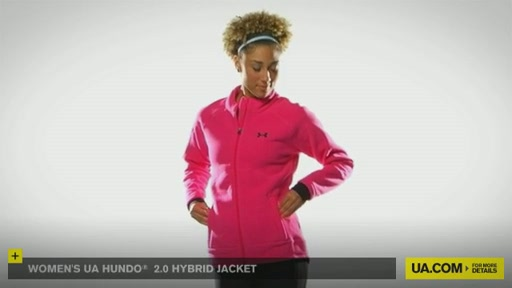 Women's UA Hundo® 2.0 Hybrid Jacket - image 1 from the video