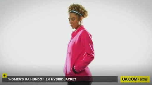 Women's UA Hundo® 2.0 Hybrid Jacket - image 2 from the video