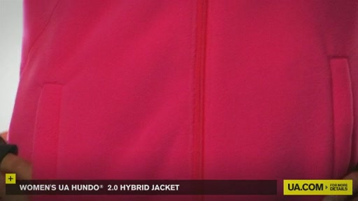 Women's UA Hundo® 2.0 Hybrid Jacket - image 3 from the video