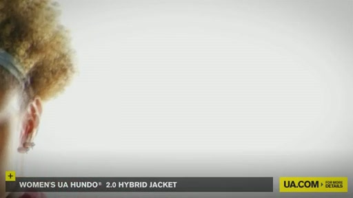 Women's UA Hundo® 2.0 Hybrid Jacket - image 7 from the video