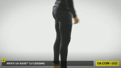 Men's UA Base&trade 3.0 Legging - image 3 from the video