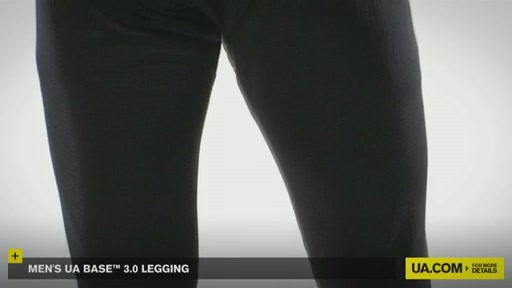 Men's UA Base&trade 3.0 Legging - image 4 from the video