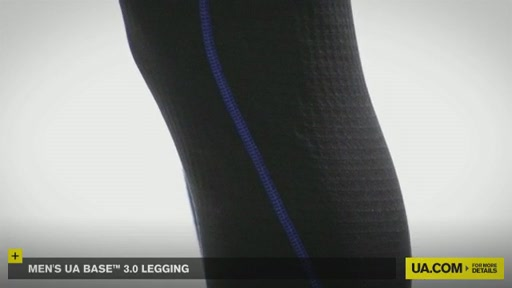 Men's UA Base&trade 3.0 Legging - image 8 from the video