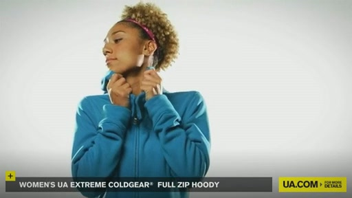 Women's Extreme ColdGear® Full Zip Hoody - image 2 from the video