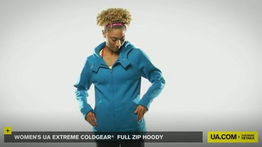 Women's Extreme ColdGear® Full Zip Hoody - image 5 from the video