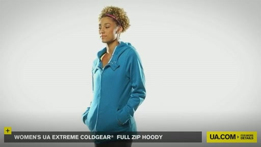 Women's Extreme ColdGear® Full Zip Hoody - image 6 from the video