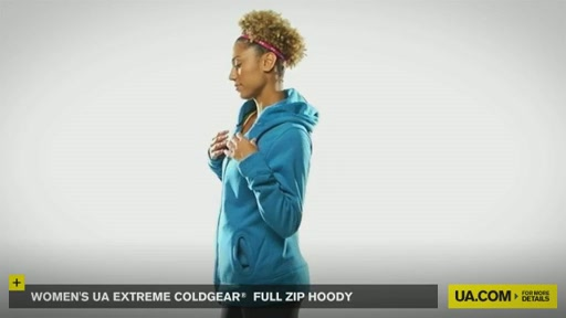 Women's Extreme ColdGear® Full Zip Hoody - image 7 from the video