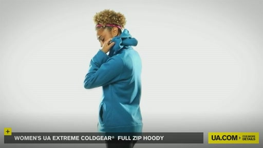 Women's Extreme ColdGear® Full Zip Hoody - image 8 from the video