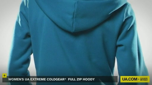 Women's Extreme ColdGear® Full Zip Hoody - image 9 from the video