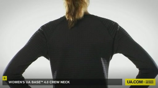 Women's UA Base™ 4.0 Crew - image 3 from the video
