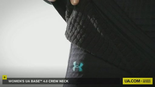 Women's UA Base™ 4.0 Crew - image 6 from the video