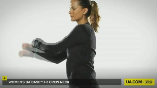 Women's UA Base™ 4.0 Crew - image 8 from the video