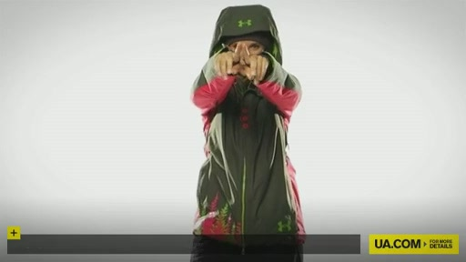 Women's UA Snowmageddon Jacket - image 10 from the video