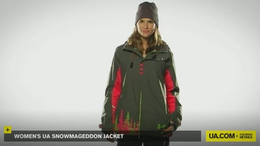 Women's UA Snowmageddon Jacket - image 2 from the video