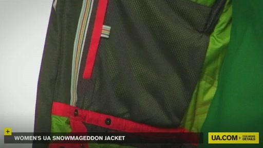 Women's UA Snowmageddon Jacket - image 4 from the video