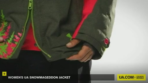 Women's UA Snowmageddon Jacket - image 6 from the video