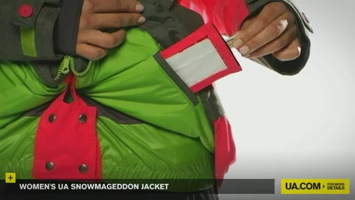 Women's UA Snowmageddon Jacket - image 7 from the video