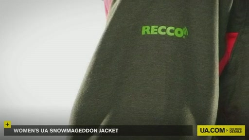 Women's UA Snowmageddon Jacket - image 8 from the video