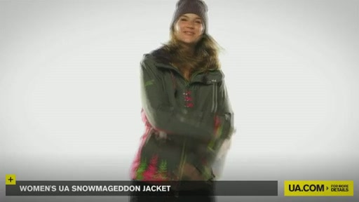 Women's UA Snowmageddon Jacket - image 9 from the video