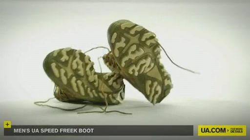 Men's UA Speed Freek Boots - image 10 from the video