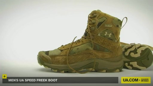 Men's UA Speed Freek Boots - image 2 from the video