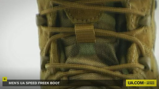 Men's UA Speed Freek Boots - image 6 from the video