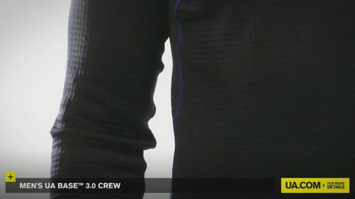 Men's UA Base™ 3.0 Crew - image 2 from the video