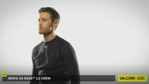 Men's UA Base™ 3.0 Crew - image 7 from the video