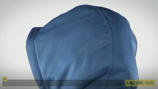 Men's Armour® Fleece Performance Hoody - image 10 from the video