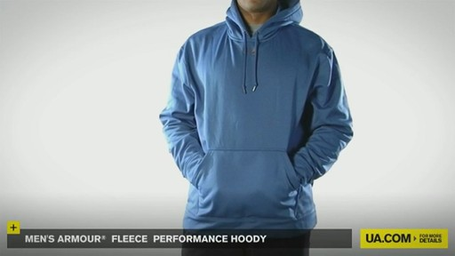 Men's Armour® Fleece Performance Hoody - image 2 from the video