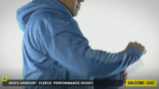 Men's Armour® Fleece Performance Hoody - image 6 from the video