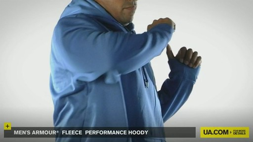 Men's Armour® Fleece Performance Hoody - image 7 from the video